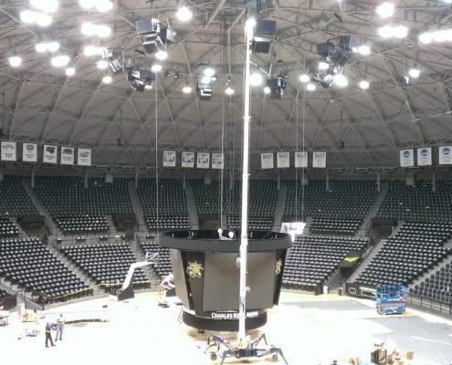 Koch Arena Scoreboard