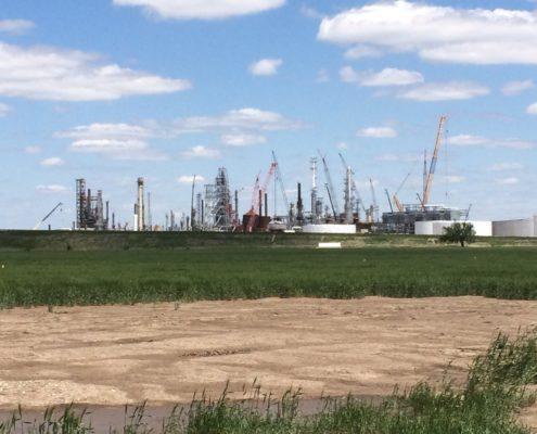 NCRA Refinery Cranes