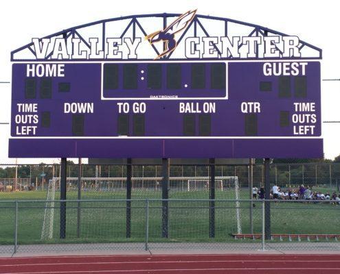 Valley Center Scoreboard