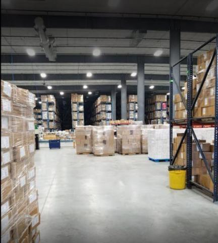 Image of storage facility with lots of boxes