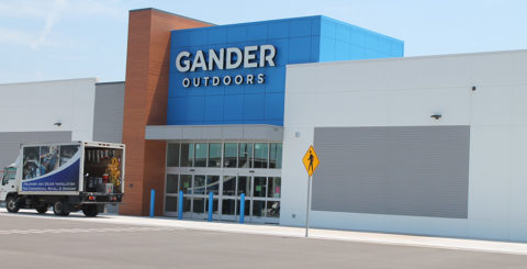 Gander Mountain, electrical construction work by Decker Electric