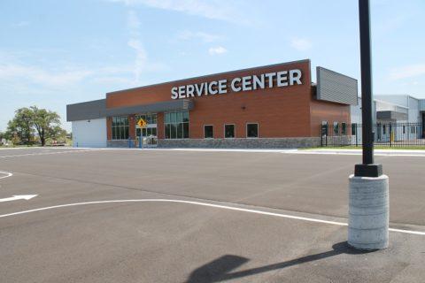 Gander Mountain service center in Wichita