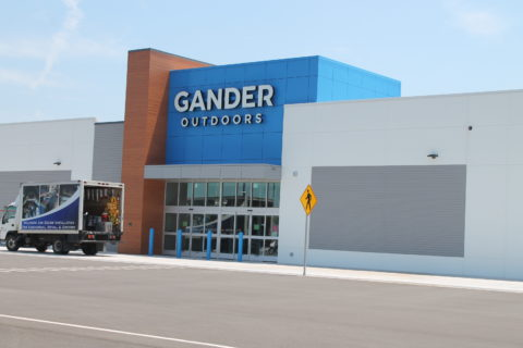Gander Outdoors building that Decker Electric was the electrical contractor for