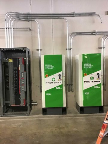 Power Control System panels install by Decker Electric