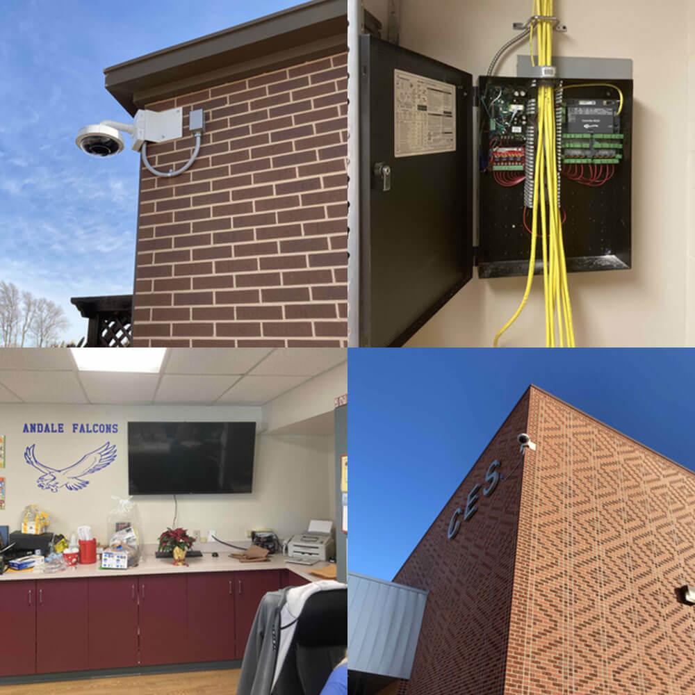 security camera installation - Security Camera Installation