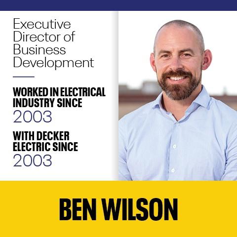 Ben Wilson Decker Electric - Data Centers