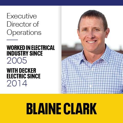 Blaine Clark Decker Electric - Home